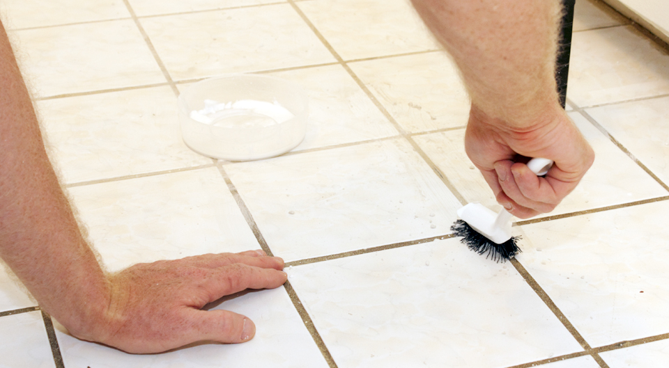 Clean your grout